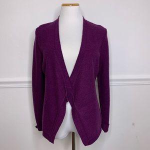 Eileen Fisher Merino Wool Cardigan Sweater PS SP